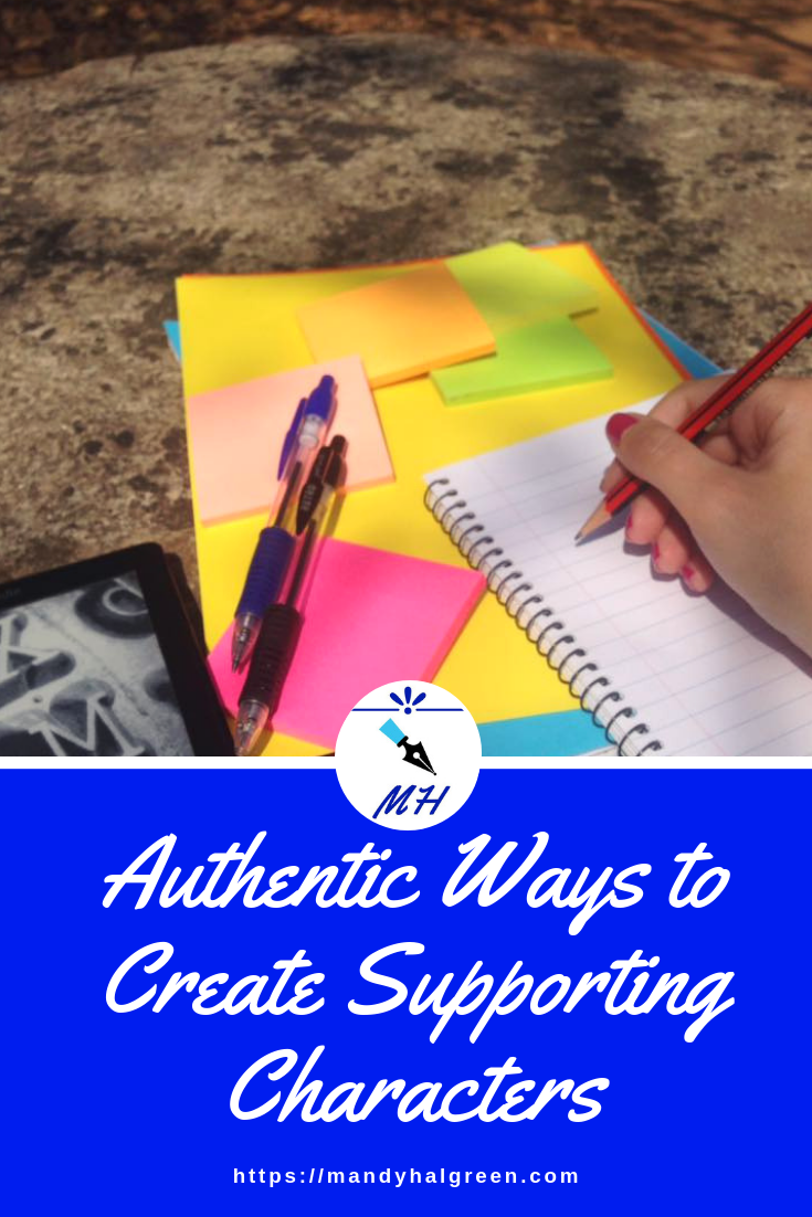 Creating authentic supporting characters for your novel can sometimes be a challenge but not anymore! View this post for more! @mandyhalgreen
