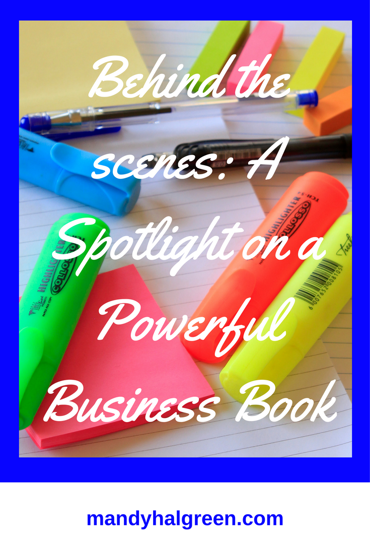 Writing a business book is on your bucket list but you are wondering about what is actually involved behind the scenes. Let me show you @mandyhalgreen