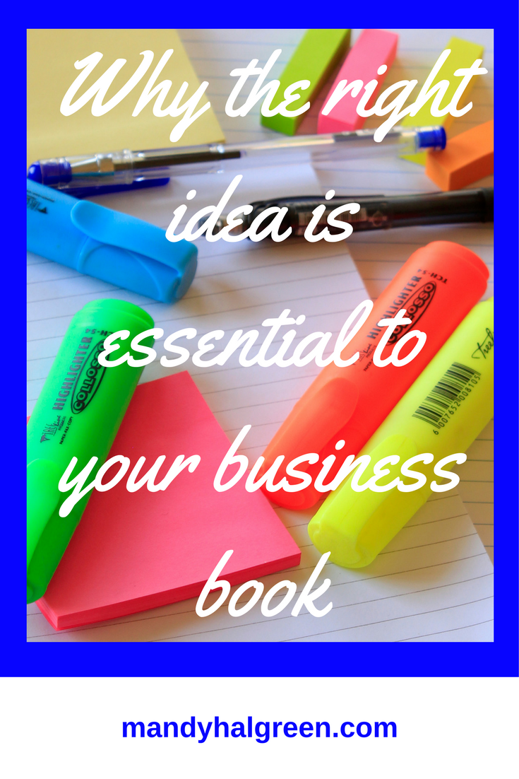 Having a business book can boost your authority, credibility and impact! See why the right idea is essential! @mandyhalgreen
