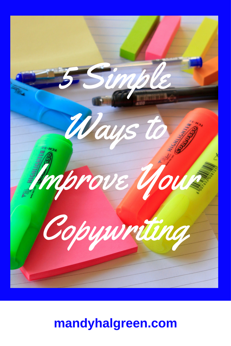 Join Ardelia and break down five simple ways to improve your copywriting @mandyhalgreen
