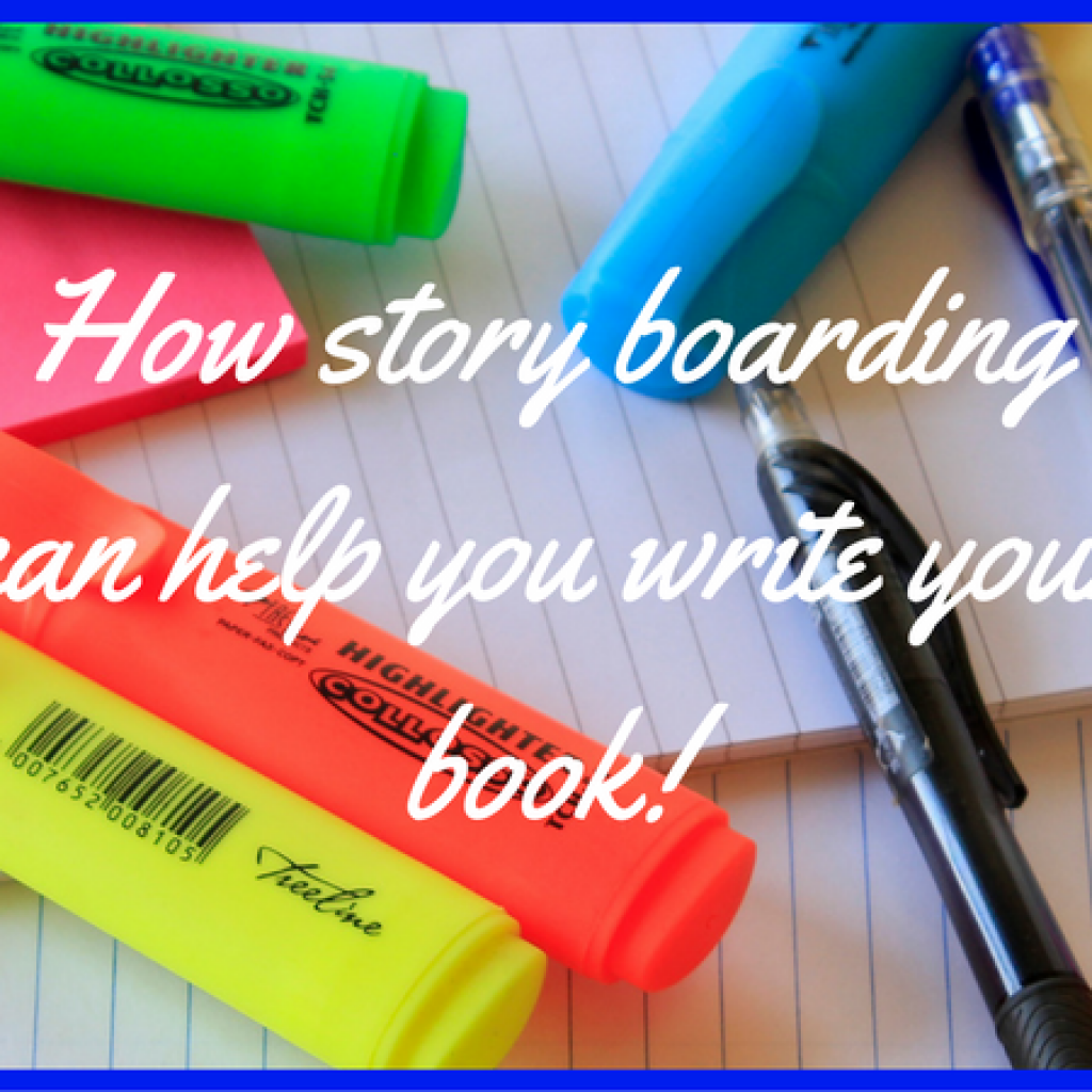 Find out how you can use story boarding to write your book!