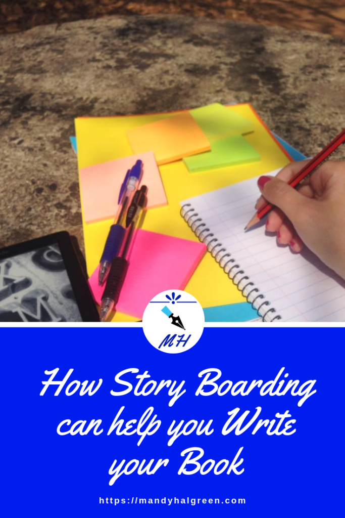 Find out how you can use story boarding to write your book! @mandyhalgreen