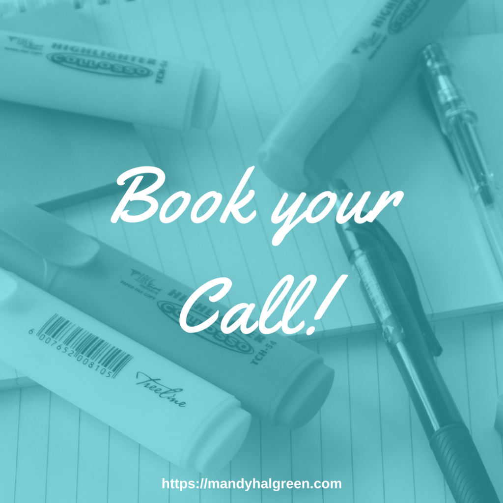 Book your complimentary call with Mandy Halgreen!