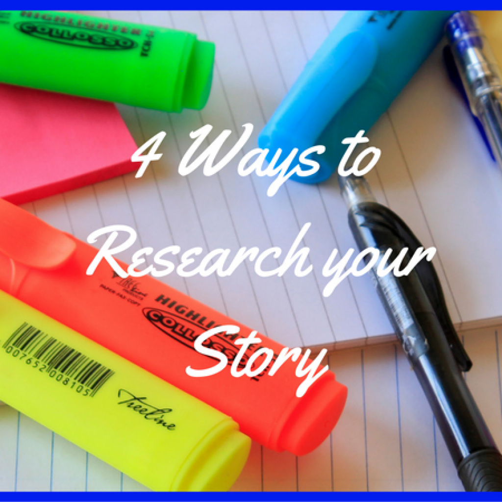 Research makes your novel real and believable. Here are 4 ways to do that! @mandyhalgreen