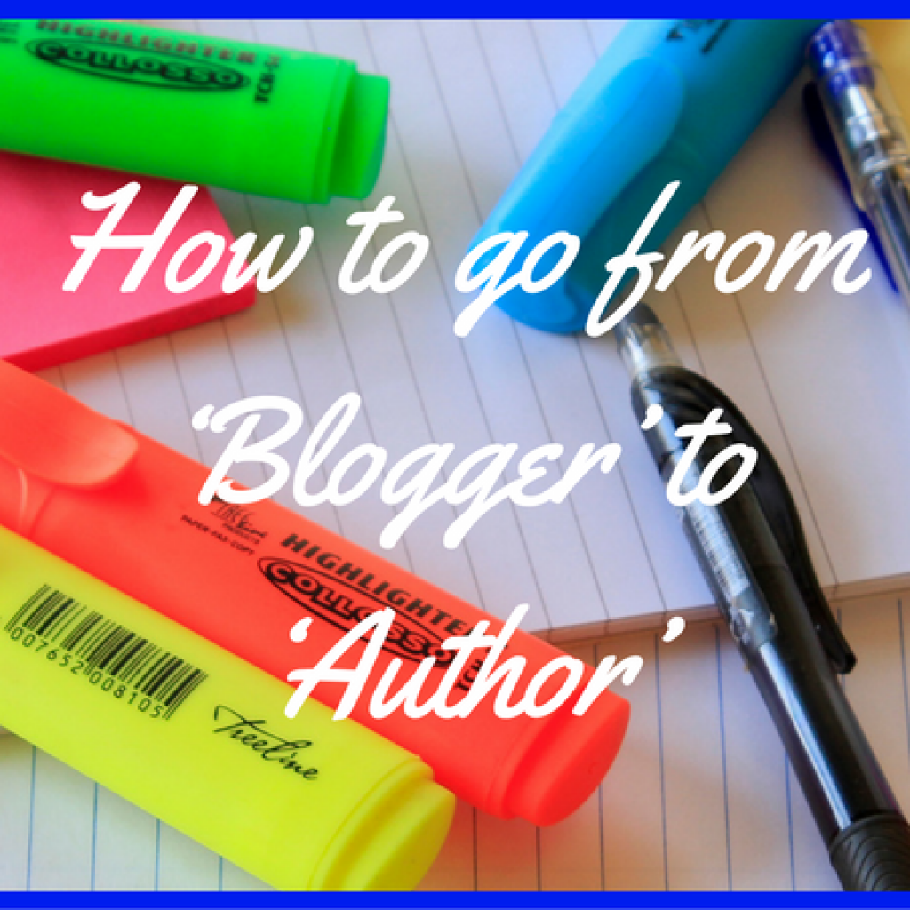 how-to-go-from-blogger-to-author-featured-image