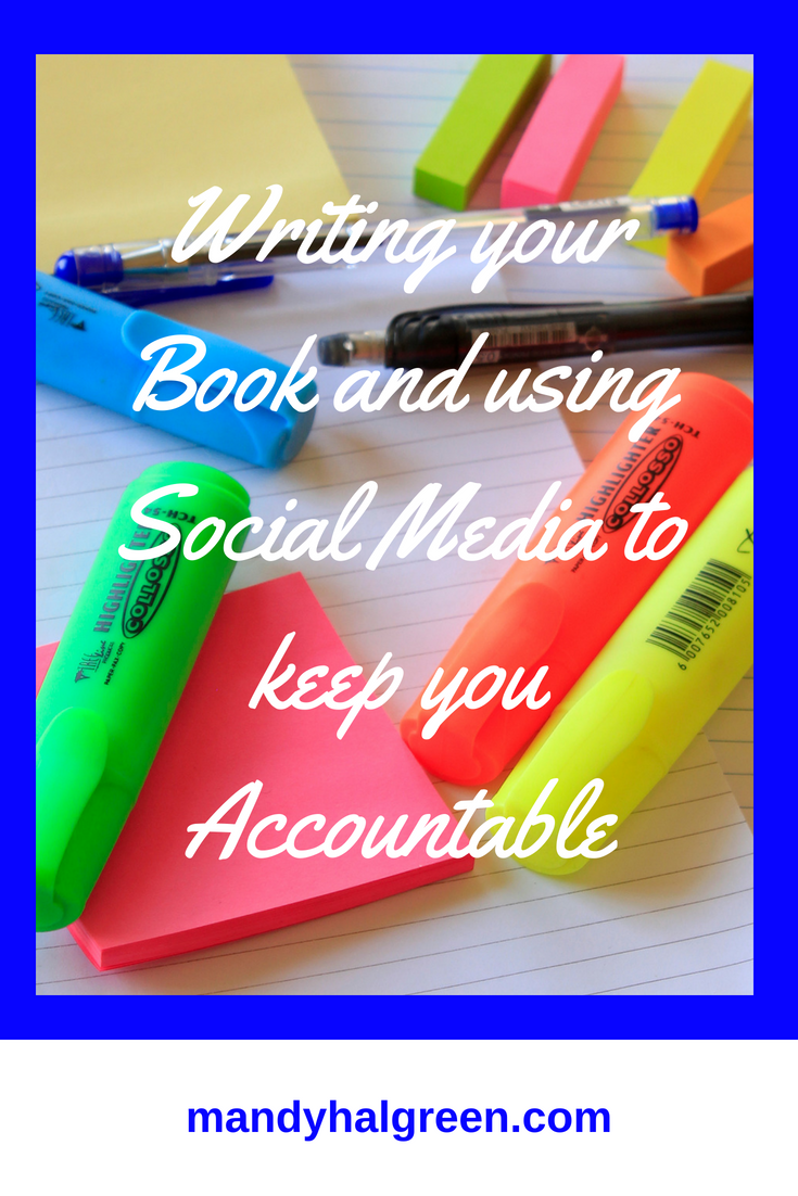 I want to show you how you can write your book with social media accountability. @mandyhalgreen